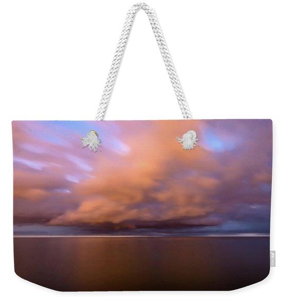 Cloud Motion At Dawn  Weekender Tote Bag