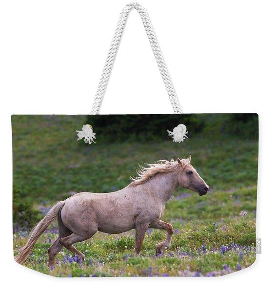 Cloud- Wild Stallion Of The West Weekender Tote Bag