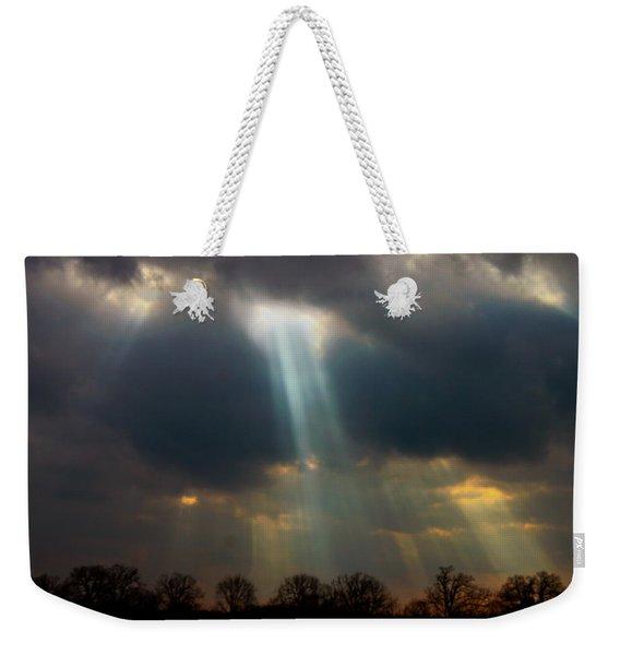 Cloudbreak Weekender Tote Bag