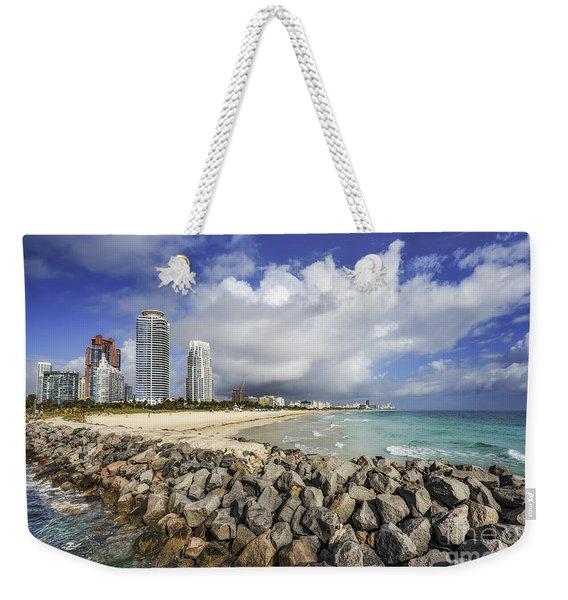 Cloudburst Weekender Tote Bag