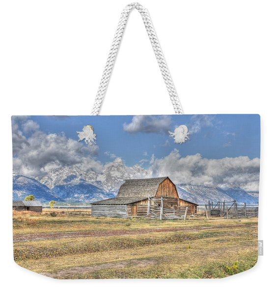 Clouds And Barn Weekender Tote Bag