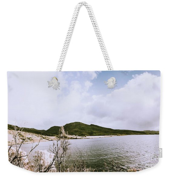 Clouds And Calm Waters Weekender Tote Bag