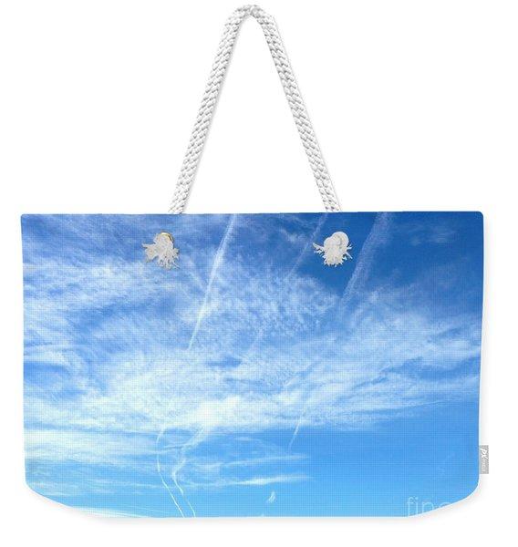 Clouds And Sky Weekender Tote Bag