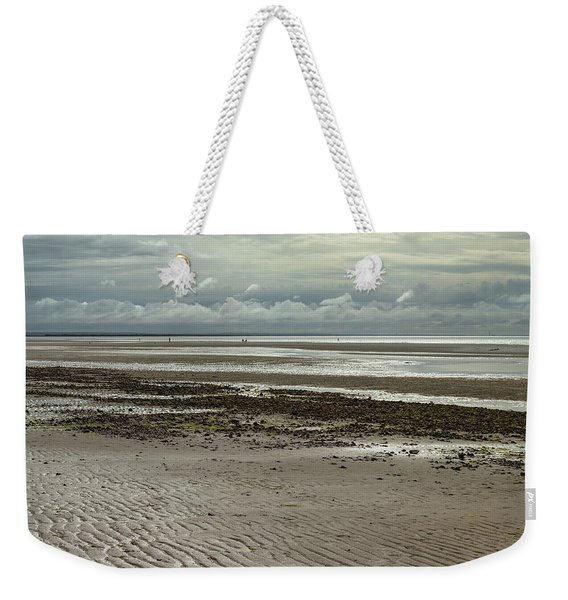 Clouds And Sun At Mayflower Beach Weekender Tote Bag