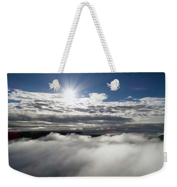 Clouds And Sun Weekender Tote Bag