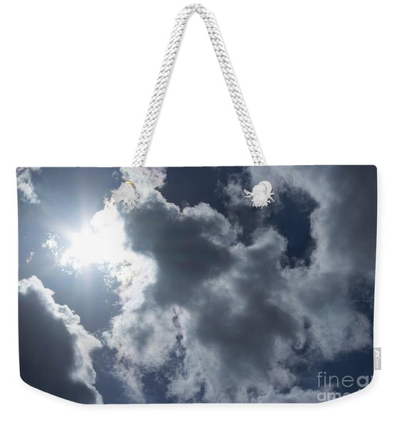 Clouds And Sunlight Weekender Tote Bag