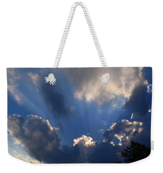 Clouds Of Glory Weekender Tote Bag