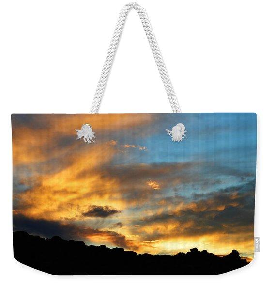 Clouds Of Liquid Gold Weekender Tote Bag