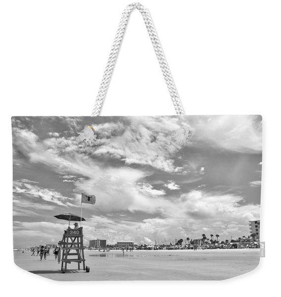 Clouds On The Beach Weekender Tote Bag