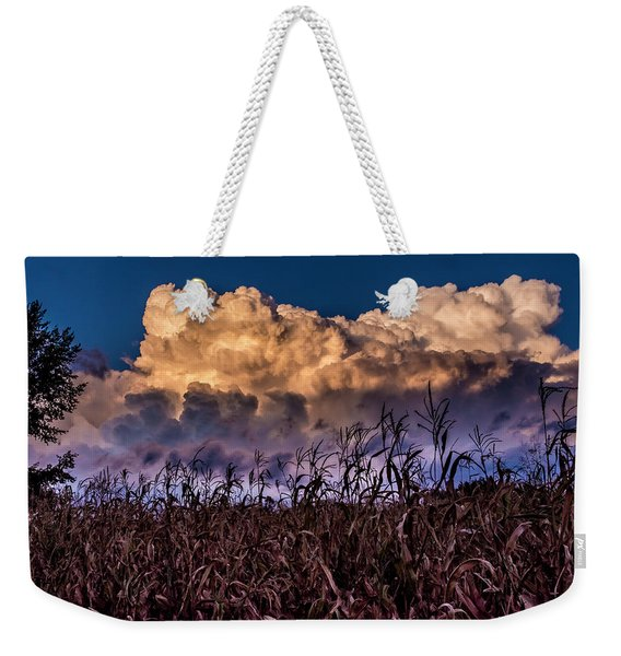 Clouds Over Fagagna Weekender Tote Bag