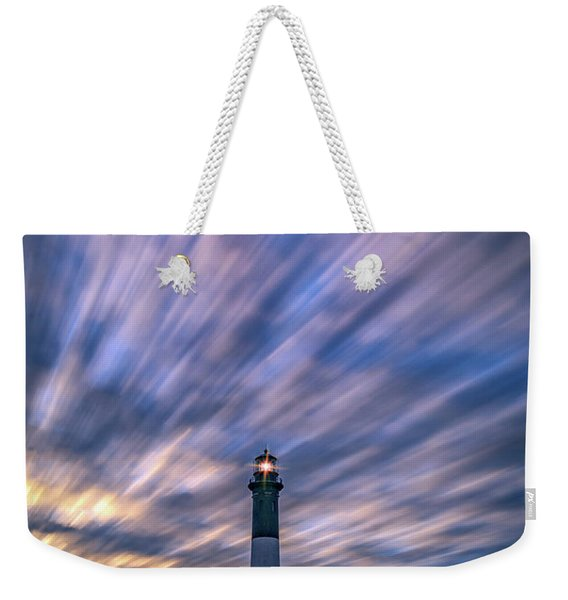 Clouds Over Fire Island Weekender Tote Bag