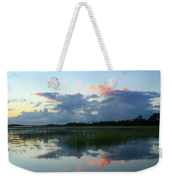 Clouds Over Marsh Weekender Tote Bag