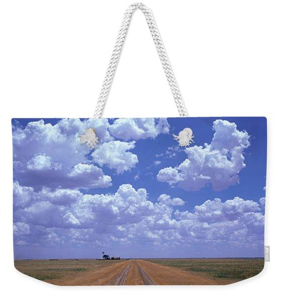 Clouds Over Prairie Amarillo Tx Weekender Tote Bag