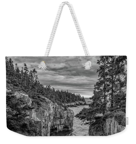 Clouds Over The Cliffs Weekender Tote Bag