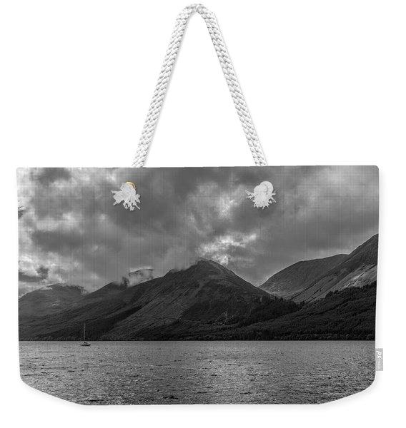 Clouds Over Loch Lochy, Scotland Weekender Tote Bag