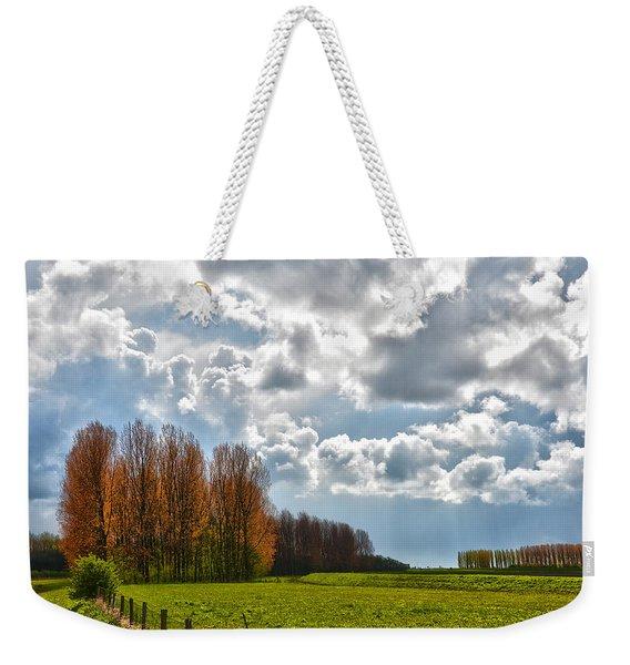 Clouds Over Voorne Weekender Tote Bag