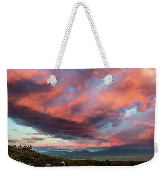 Clouds Over Warner Springs Weekender Tote Bag