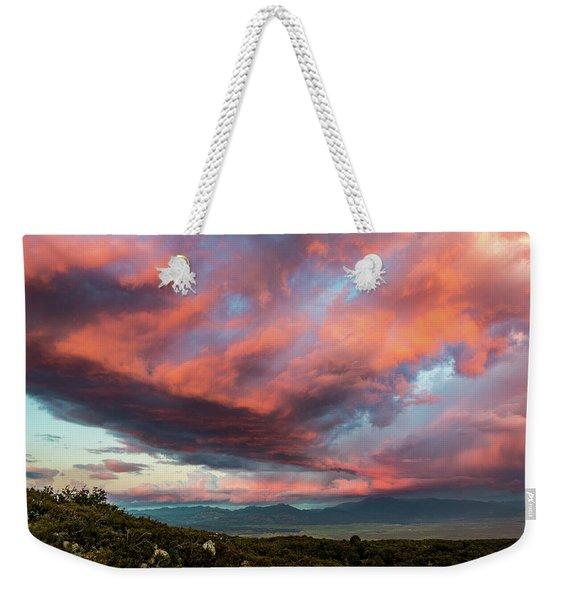 Clouds Over Warner Springs Weekender Tote Bag