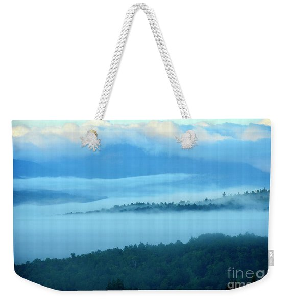 Clouds Over Western Foothills Weekender Tote Bag