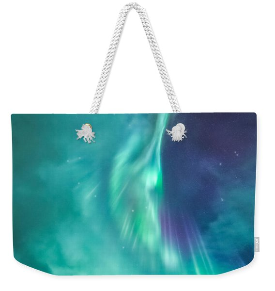 Clouds Vs Aurorae Weekender Tote Bag