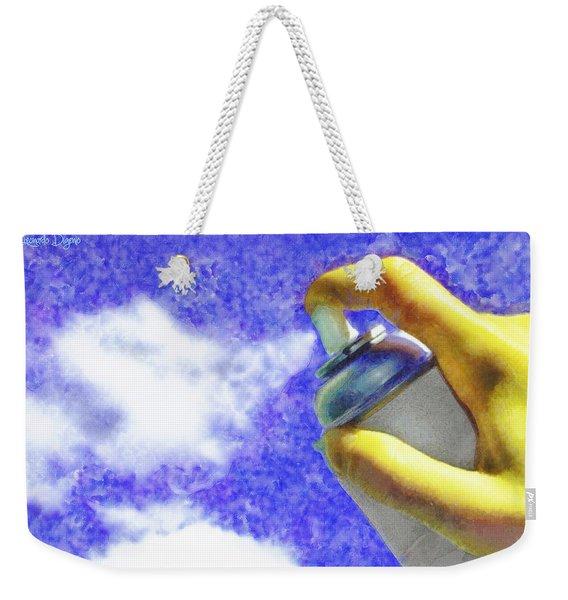 Cloudspreading - Da Weekender Tote Bag
