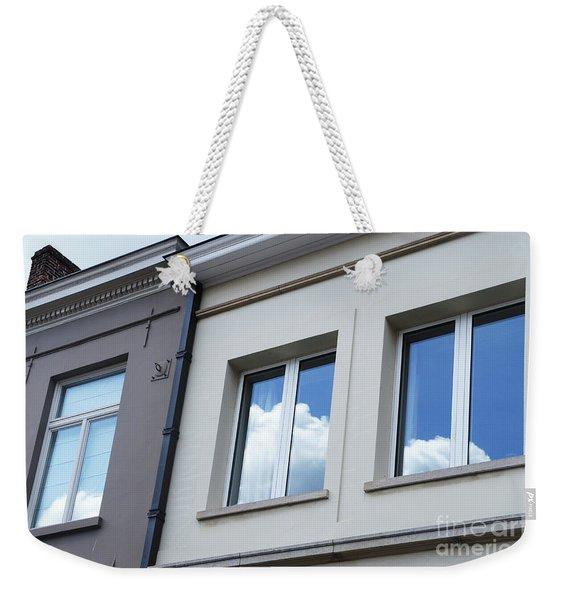 Cloudy Windows Weekender Tote Bag