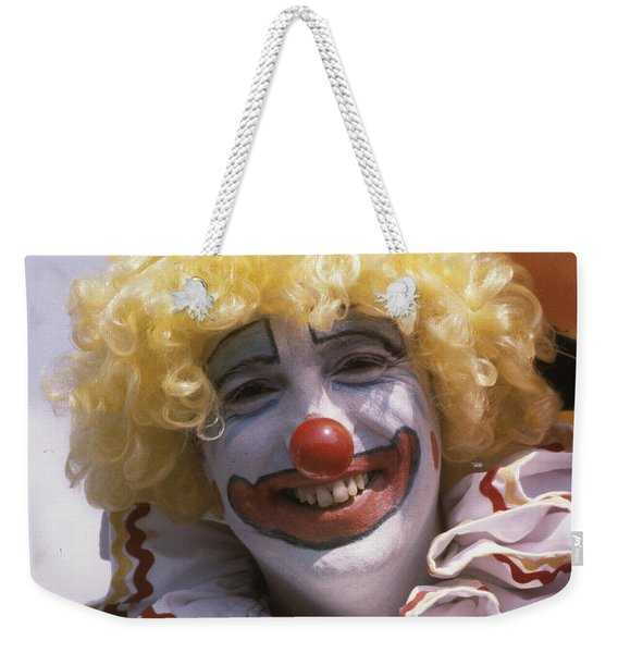 Clown-1 Weekender Tote Bag