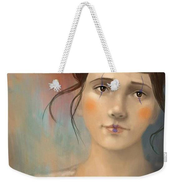 Clown Girl Weekender Tote Bag