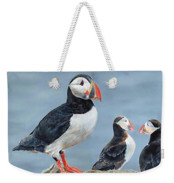 Clowns Of The Sea. Weekender Tote Bag