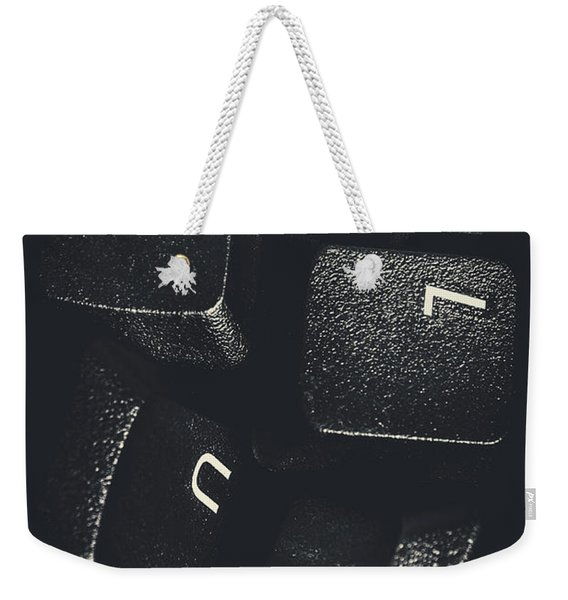 Clues And Pieces Weekender Tote Bag