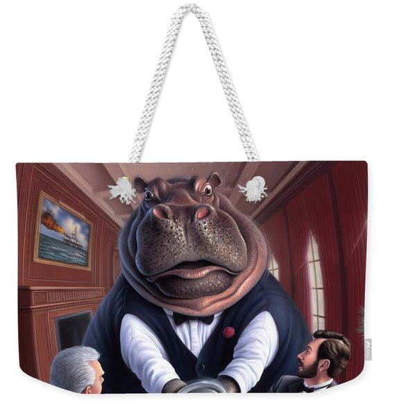 Clumsy Weekender Tote Bag