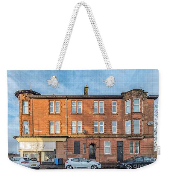 Clydebank Sandstone Tenement Weekender Tote Bag