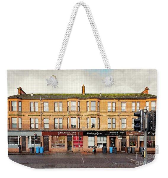 Clydebank Sandstone Tenement Kilbowie Road Weekender Tote Bag