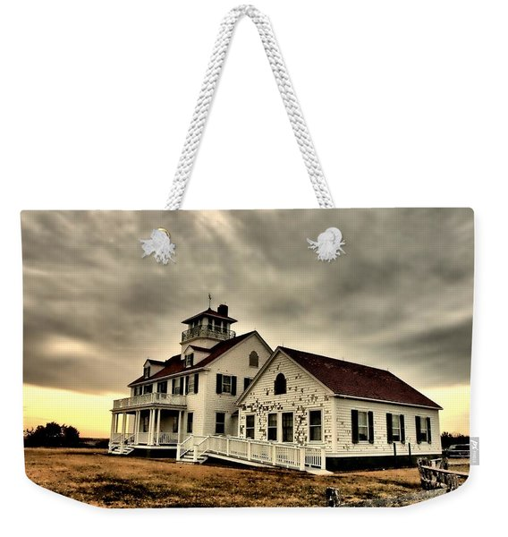 Coast Guard Beach Station Weekender Tote Bag