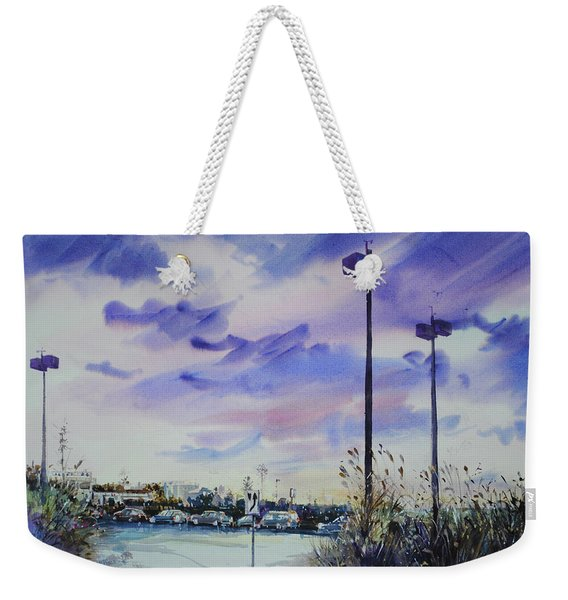 Coastal Beach Highway Weekender Tote Bag