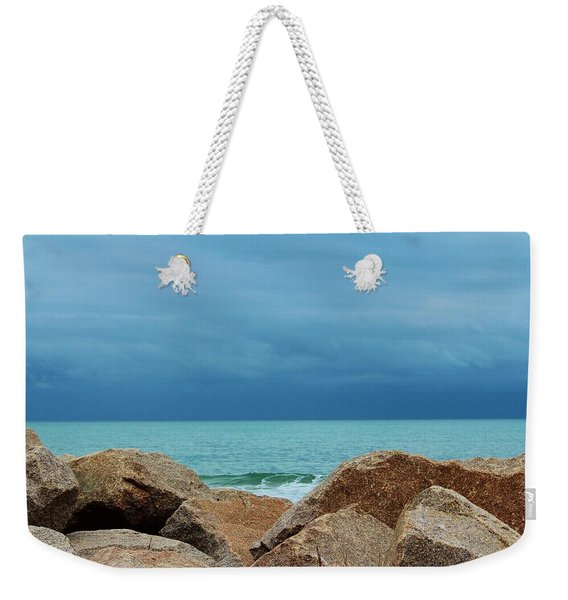 Coastal Blues Weekender Tote Bag