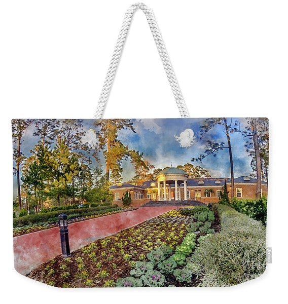 Coastal Carolina University Digital Watercolor Weekender Tote Bag