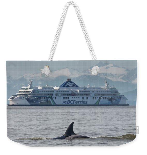 Coastal Inspiration Weekender Tote Bag