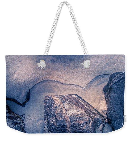 Coastal Rocks Weekender Tote Bag