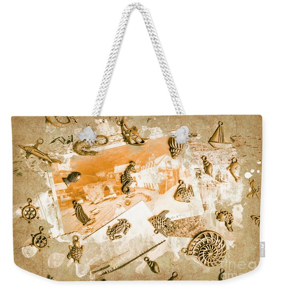 Coastal Romantics Weekender Tote Bag