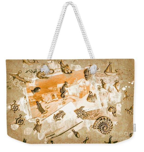 Coastal Romantics Weekender Tote Bag