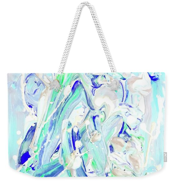 Coastal Splash Weekender Tote Bag
