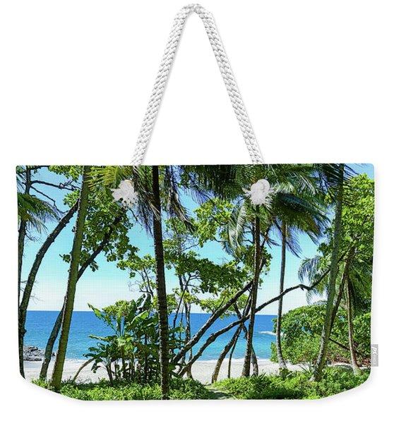 Coata Rica Beach 1 Weekender Tote Bag