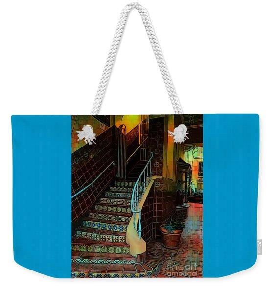 Cobblestone And Tile Weekender Tote Bag