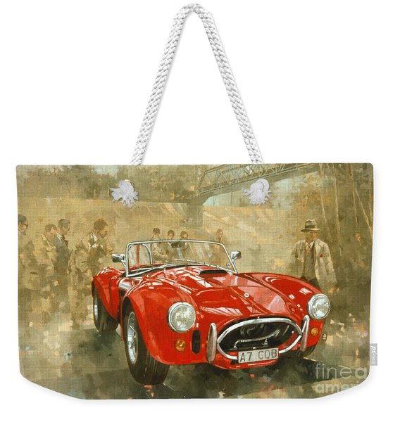 Cobra At Brooklands Weekender Tote Bag