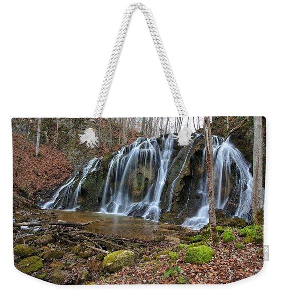 Cobweb Falls Weekender Tote Bag