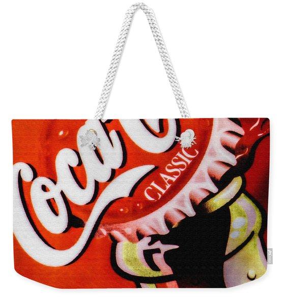 Coca Cola Classic Weekender Tote Bag