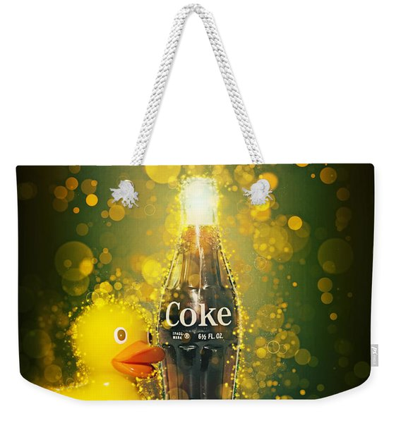 Coca-cola Forever Young 5 Weekender Tote Bag