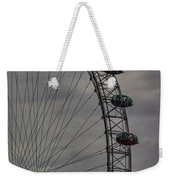 Coca Cola London Eye Weekender Tote Bag