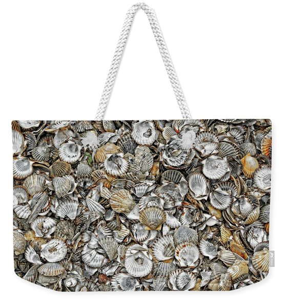 Cockleshells 1 Weekender Tote Bag